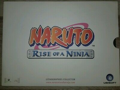 Naruto Rise Of A Ninja - Lithographies Collector Officiel Ubi Soft