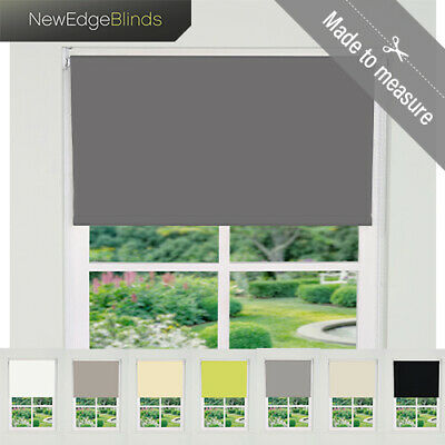 Made To Measure Thermal Blackout Roller Blinds Up To 240cm Width