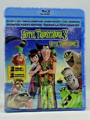 Hotel Transylvania 3: Summer Vacation (Blu-ray/DVD, Includes Digital Copy)