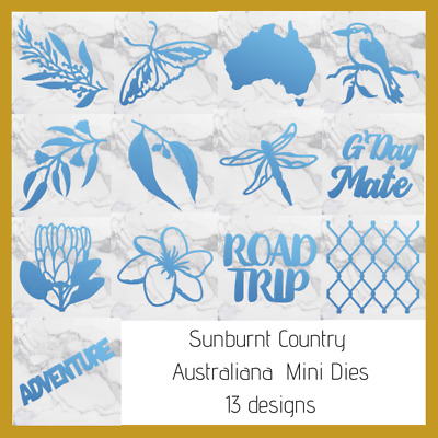 Couture Creations Mini Dies - Sunburnt Country - Choose from 13 Dies