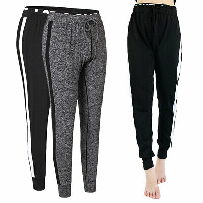 Women's Ladies Joggers Tracksuit Bottoms Trousers Slacks Gym Jogging Sweat Pants
