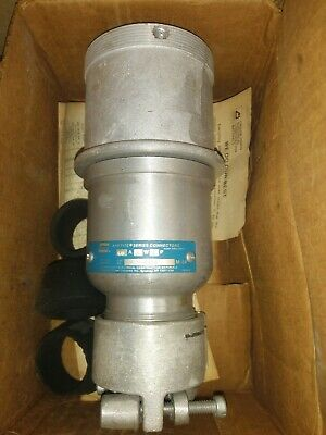 CROUSE HINDS APR6455 60-Amp PIN&SLEEVE CONNECTOR 60A 600V 4W 4P