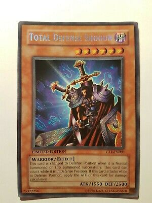 Total Defense Shogun CT1 Secret Rare Yugioh