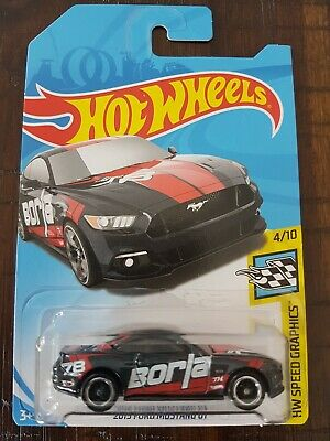 Hot Wheels 2018 Ford Mustang Gt Super Treasure Hunt In Protector