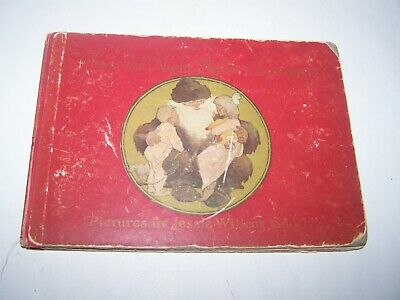 """Antique 1912 """"Twas The Night Before Christmas """"Clement Moore, Jessie Smith Book"""