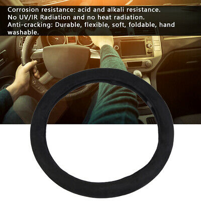 12V Winter Warm Comfortable Heated Steering Wheel Cover Car Accessory