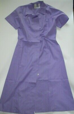Lab Coat, Dust Coat Size Small Bust 87cm Short Sleeve