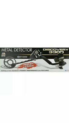 Bounty Hunter Discovery 3300 Metal Detector - New - US Seller Fast Shipment