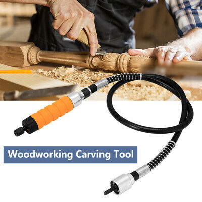 Electric Woodworking Carving Chisel Engraving Knife Tool Wrench Soft Tube Set