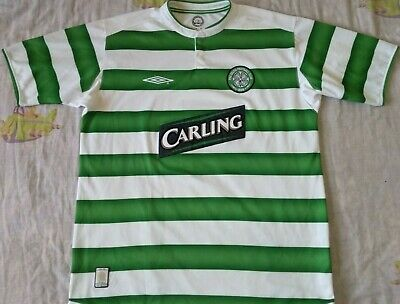 Camiseta Maillot Shirt CELTIC GLASGOW Umbro Size L Season 2003 Vintage