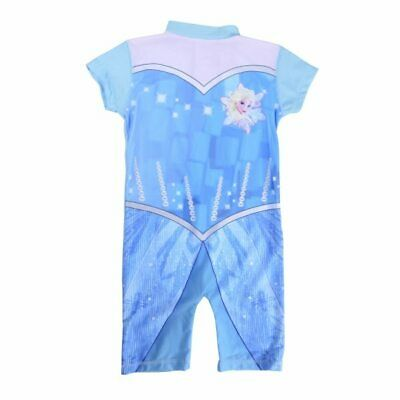 Licensed Disney Frozen Elsa Toddler Girls Kids Swim Surf Suit Age 2-3 Years