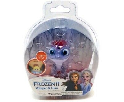 Frozen 2 Disney Whisper And Glow & Light Up Figure Bruni The Salamander Elsa II