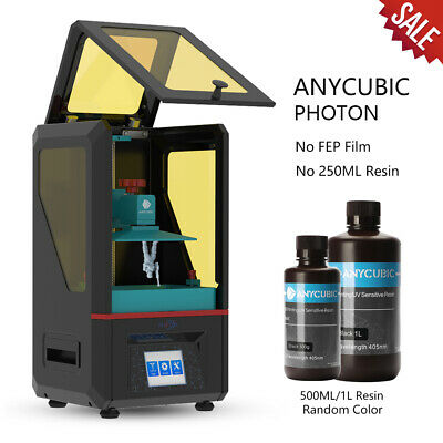 ANYCUBIC Photon SLA 3D Printer UV Fast Curing Jewelry Molding + 500ml/1L Resin