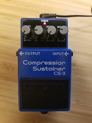 Boss Compression Sustainer CS-3 Compressor Guitar Effects Pedal