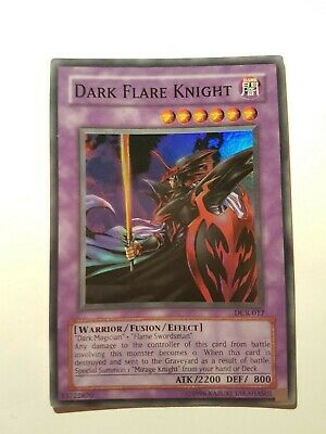 Dark Flare Knight DCR Super Rare Yugioh