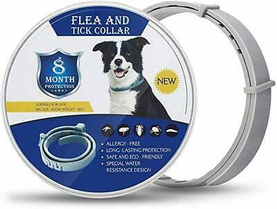 NEW Natural Oil Flea & Tick Collar for Dogs Prevention Control for 8 Months Safe