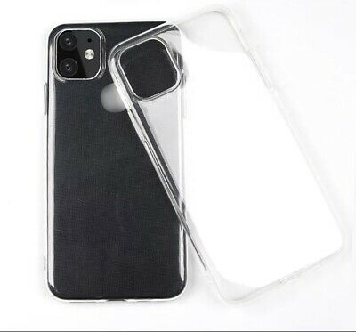Transparent Bumper Phone Case Shockproof Silicone Case for iPhone 11,Iphone 11pr