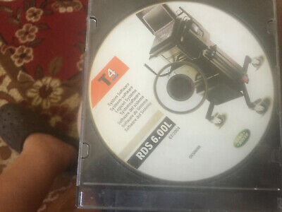 LAND ROVER RDS T4 System Disk / CD - T4 / Testbook For Land Rover