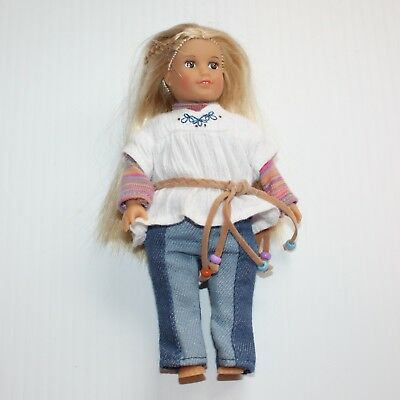American Girl Julie Albright Mini Doll in Meet Outfit but No Shoes