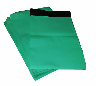 50 7.5x10.5 Teal Green Poly Mailers Shipping Envelopes Self Sealing Mailers Bags