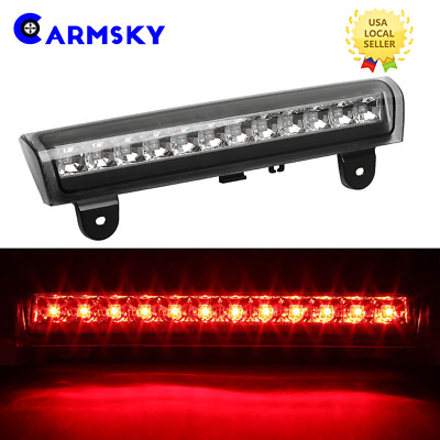For 2000-2006 Tahoe/Suburban/Yukon Smoke Housing Rear Roof 3Rd Brake Led Light