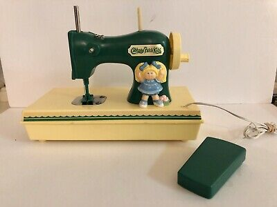 Vintage 1984 Durham Industries - Cabbage Patch Kids Play Sewing Machine