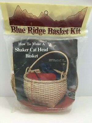 7-1//2-Inch with Handle Commonwealth Basket Blue Ridge Basket Kits Shaker Cat Head 10-Inch by