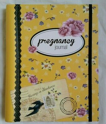 BRAND NEW 'JOURNEYS' PREGNANCY JOURNAL  42 WEEK JOURNAL 80+Pages