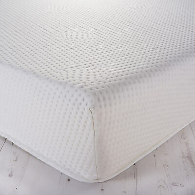 """Memory Foam Mattress With Washable Zip Cover In 6"""" 8"""" 10"""" And 12"""" Depth"""