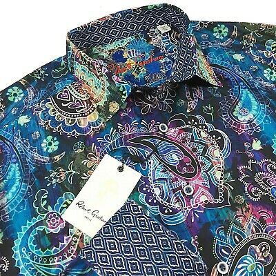 "Shirt /""Acosta/"" NWT ROBERT GRAHAM Classic Fit - Retail $278"