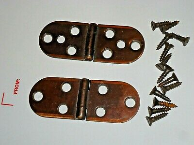 Singer Sewing Machine Cabinet Hinges Set with mounting screws