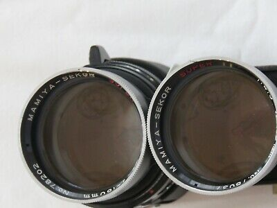 Mamiya-Sekor Super 180mm f/4.5 TLR Camera Lens excellent condition with case