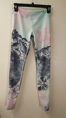 Ivivva Made With Love By Claire Leggings Limit Ed Size 14