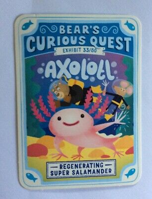 Lumberpaw Squad *Free combined postage Bear YoYo Cards Super Species School