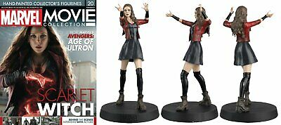 Marvel Movie Collection Issue 20 Scarlet Witch Eaglemoss Figure & Magazine Usa