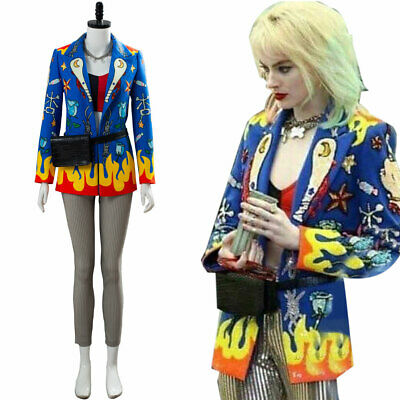 Birds of Prey 2 the Fantabulous Emancipation of One Harley Quinn Cosplay Costume