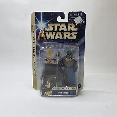 Wat Tambor Star Wars Saga 03 #23 Geonosis War Room Separatist Council AotC loose