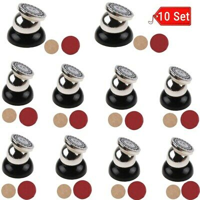 10X Universal 360° Car Mount Sticky Magnetic Stand Holder For Cell Phone GPS BT