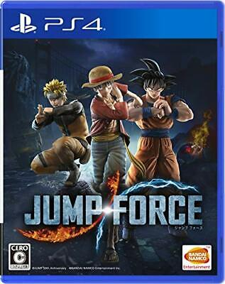 USED PS4 JUMP FORCE japan import