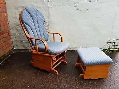 Modern Rocking Chair And Rocking Stool Used