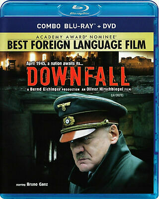Downfall [Blu-ray + DVD] New and Factory Sealed!!