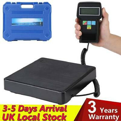 Pro Digital Refrigerant Recovery Weighing Scale HVAC Refrigeration Weight 100kg