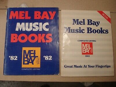 1982 1983 MEL BAY MUSIC BOOKS CATALOGS Complete Listing 48 + 64 pgs Collectors!