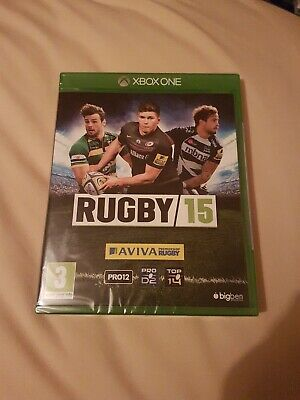 Rugby 15 Xbox One New Sealed Uk Pal Stock