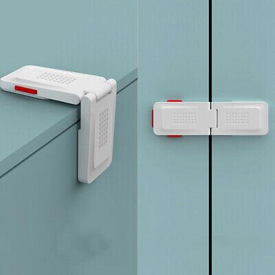 Baby Kids Safety Locks Protection Drawer Cabinet Right Angle Corner Lock ONE