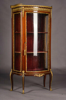 O-201 Dainty French Cabinet in transition Style um 1870