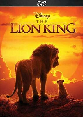 The Lion King 2019 (Live Action) DVD Brand New & Sealed with Free Shipping