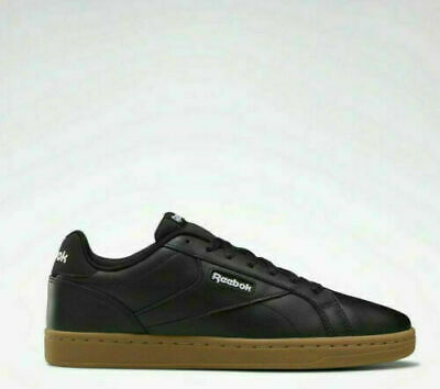 Reebok Royal Complete Clean LX Black Leather Mens Trainers UK 7 **BRAND NEW**