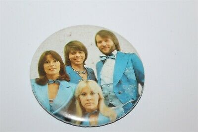 Abba Group Photo Badge Music Collectable (Lot 16)