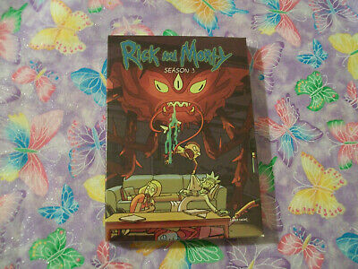 Rick and Morty The complete Third season DVD